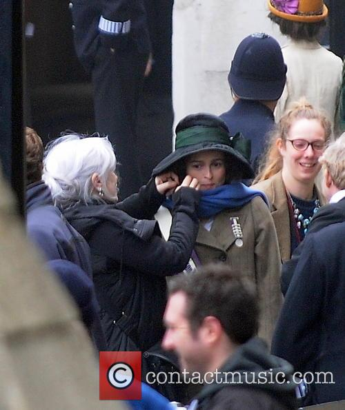 On the set of 'Suffragette'