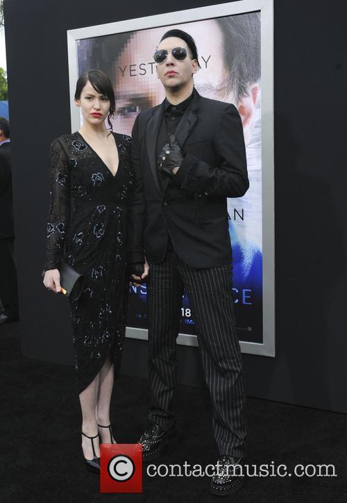 Lindsay Usich and Marilyn Manson 2