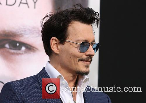 johnny depp premiere of warner bros pictures 4150867
