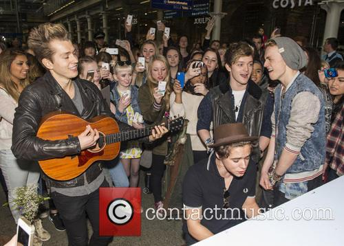 James Mcvey, Bradley Simpson, Connor Ball, Tristan Evans and The Vamps 10