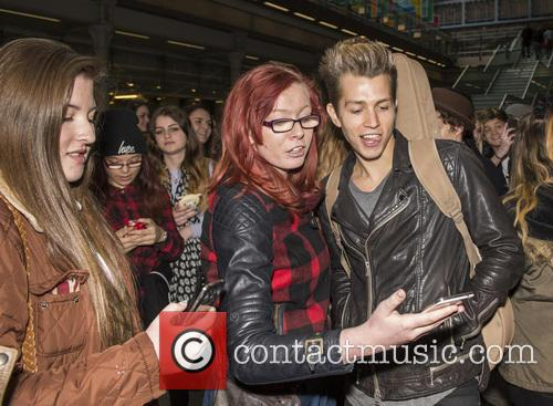 James Mcvey and The Vamps 9