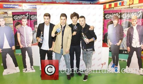 Union J sign their new range of dolls