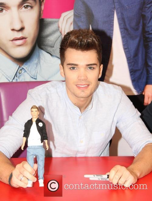 Union J sign their new range of dolls