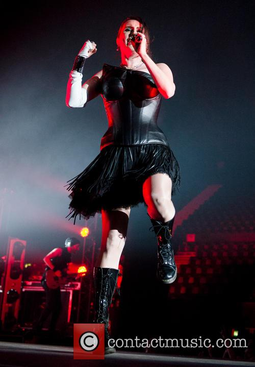 Sharon Den Adel and Within Temptation 1