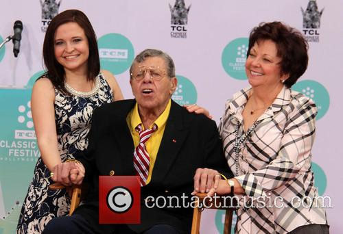 Jerry Lewis, Danielle Sarah Lewis and SanDee Pitnick 2