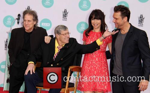 Jerry Lewis, Richard Lewis, Illeana Douglas and Dane Cook