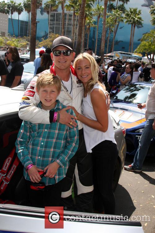 Cole Hauser, Son and Cynthia Daniel 1