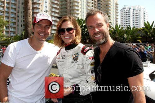 Michael Trucco, Tricia Helfer and Jr Bourne