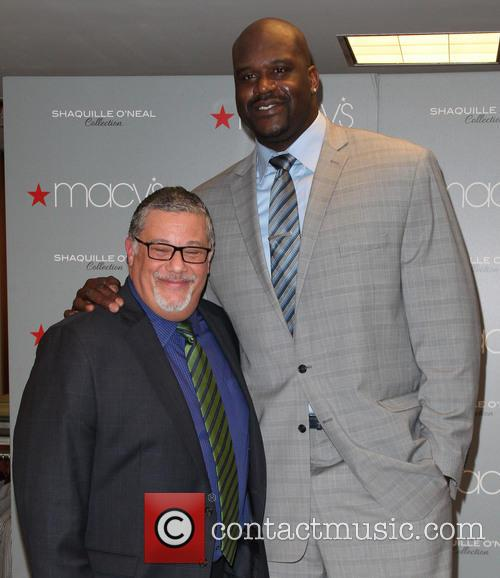 Shaquille O'Neal launches his menswear collection
