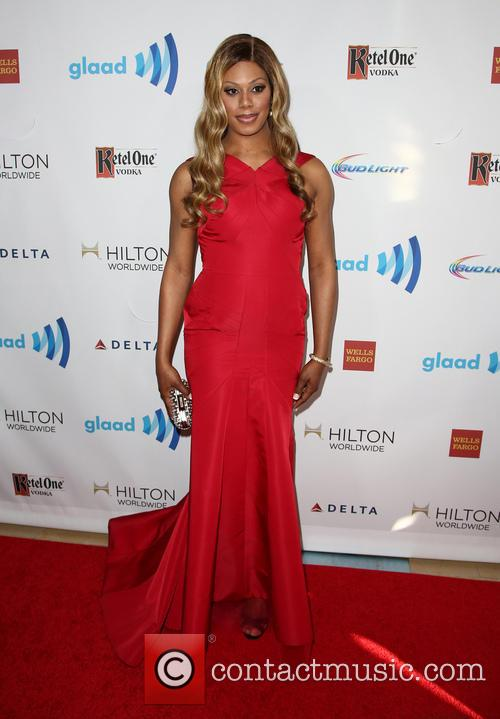 Laverne Cox, The Beverly Hilton Hotel