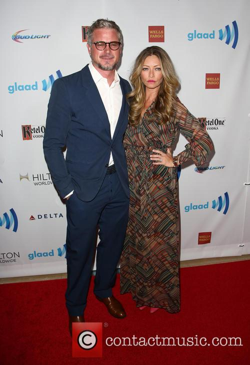 Rebecca Gayheart, Eric Dane, The Beverly Hilton Hotel