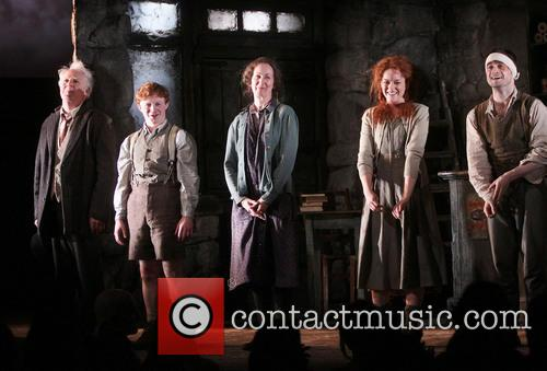 Gary Lilburn, Conor Macneil, Ingrid Craigie, Sarah Greene and Daniel Radcliffe 1