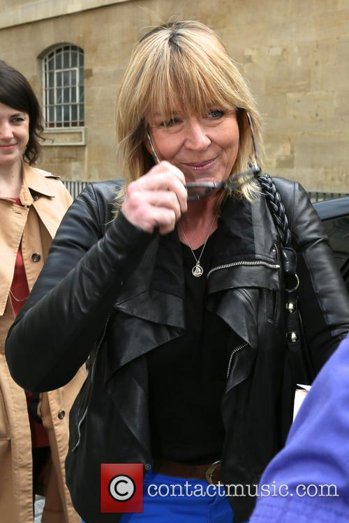 Fern Britton leaves the BBC Radio 4 studios