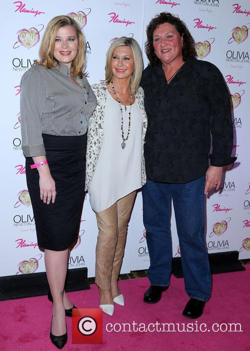 Bridgett Casteen, Olivia Newton John and Dot Marie Jones 2