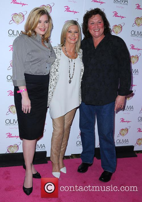 Bridgett Casteen, Olivia Newton John and Dot Marie Jones 1