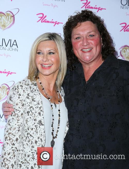 Olivia Newton John and Dot Marie Jones