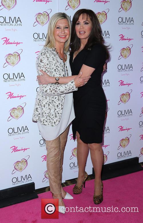 Olivia Newton John and Marie Osmond 7