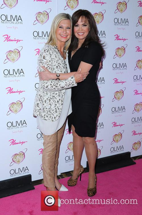 Olivia Newton John and Marie Osmond 1