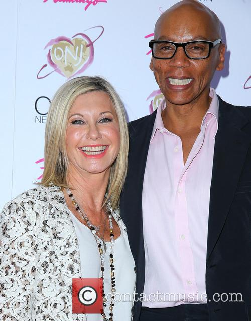Olivia Newton John and Rupaul 2