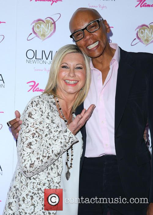 Olivia Newton John and Rupaul 4