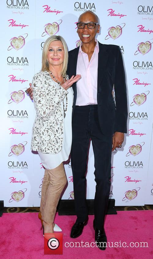 Olivia Newton John and RuPaul 1