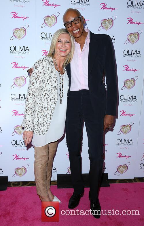 Olivia Newton John and RuPaul 4