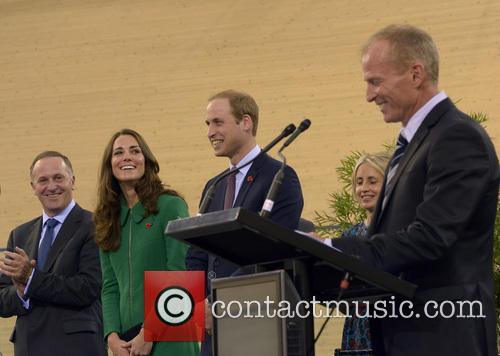 Prince William, Catherine Duchess Of Cambridge and John Key 1