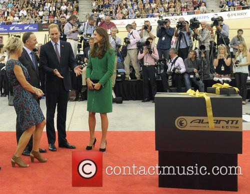 Prince William, Catherine Duchess Of Cambridge and John Key 3