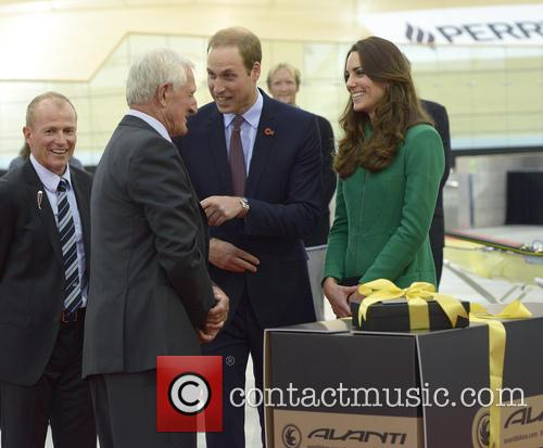 Prince William, Catherine Duchess of Cambridge, Avanti Drome