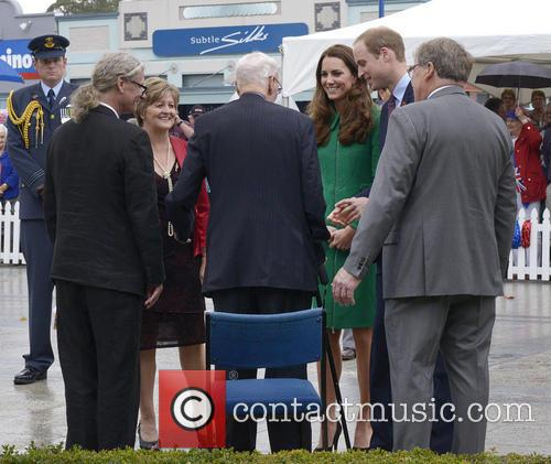 Prince William, Catherine Duchess of Cambridge and Jim Mylchreest 1