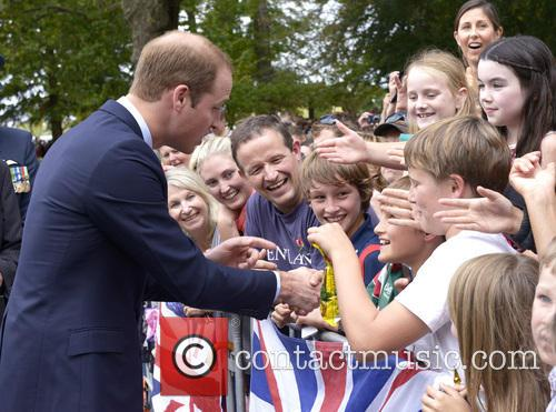 Prince William, Cambridge Town Hall