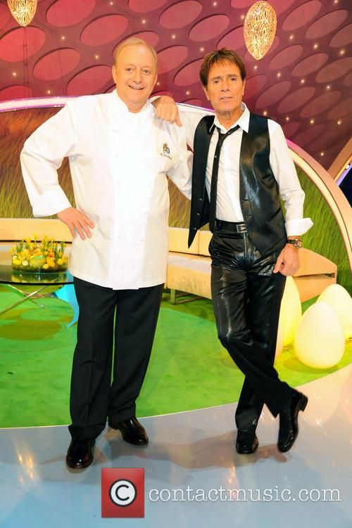 Alfons Schuhbeck and Cliff Richard 2