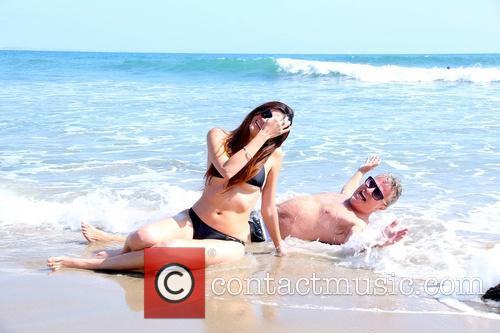 John Savage And Blanca Blanco In Malibu