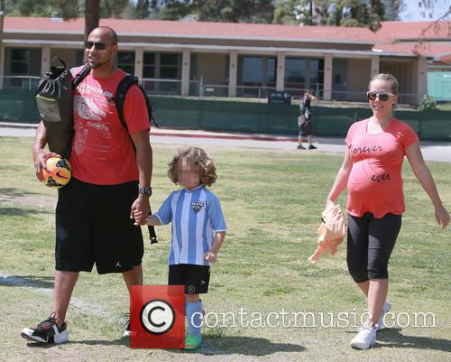 Hank Baskett, Hank Basket Iv and Kendra Wilkinson 3