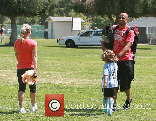 Hank Baskett, Hank Basket Iv and Kendra Wilkinson 6
