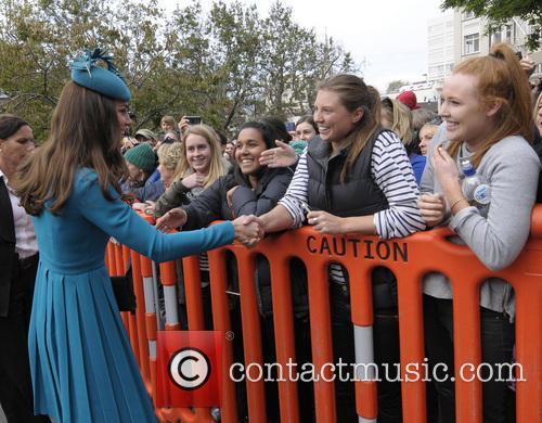 The Duke and Duchess of Cambridge New Zealand...