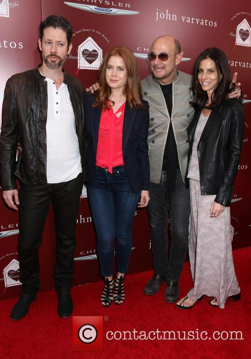 Amy Adams, Darren Le Gallo, John Varvatos and Guest 3