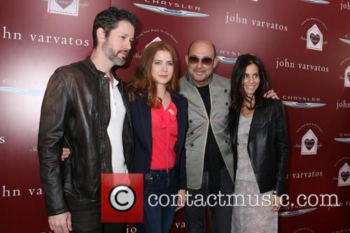Amy Adams, Darren Le Gallo, John Varvatos and Guest 8