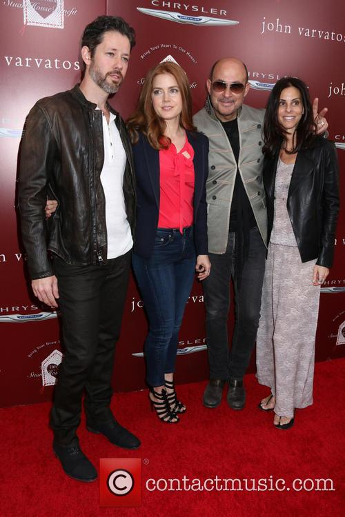 Amy Adams, Darren Le Gallo, John Varvatos and Guest 9