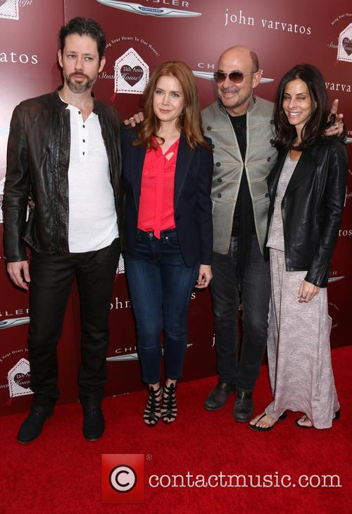Amy Adams, Darren Le Gallo, John Varvatos and Guest 1