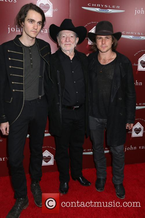 Willie Nelson, Lukas Nelson and Micah Nelson 5