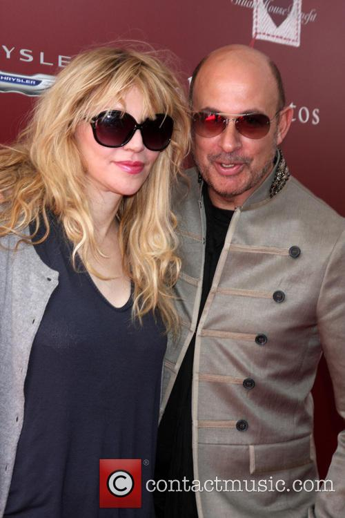 Courtney Love and John Varvatos 2