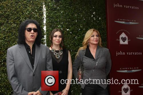 Gene Simmons, Sophie Simmons and Shannon Tweed 3