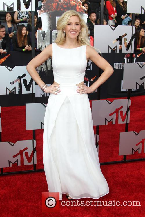 Ellie goulding at the mtv Awards