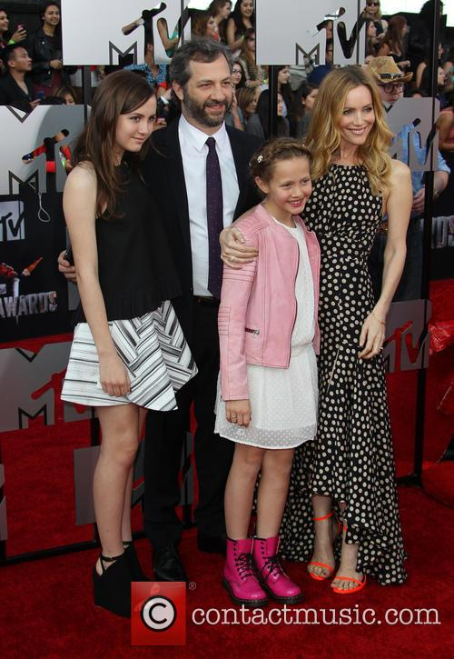 Leslie Mann, Judd Apatow and Kids 2
