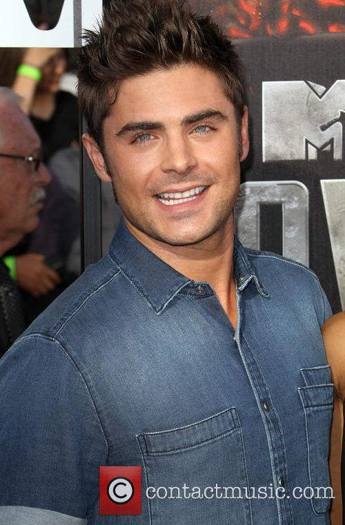 Zac Efron at the MTV Movie Awards