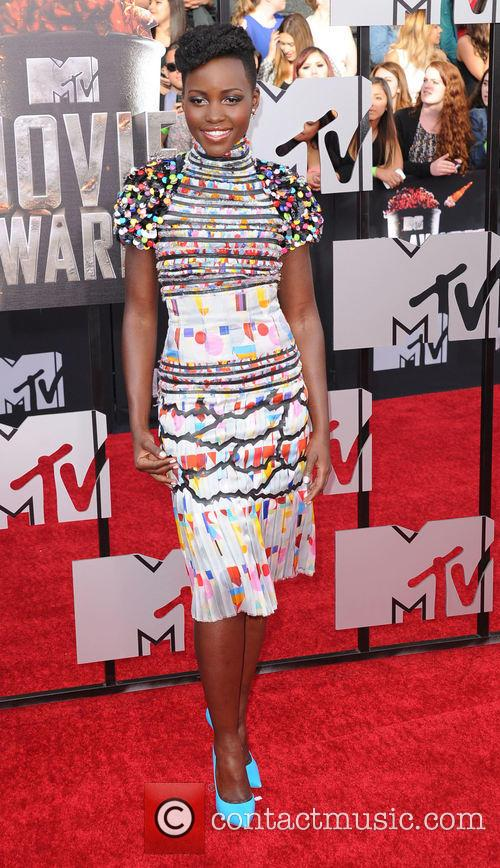 Lupita Nyong'o at the mtv movie awards