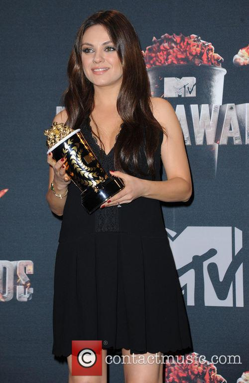 Mila Kunis at 2014 MTV Movie Awards