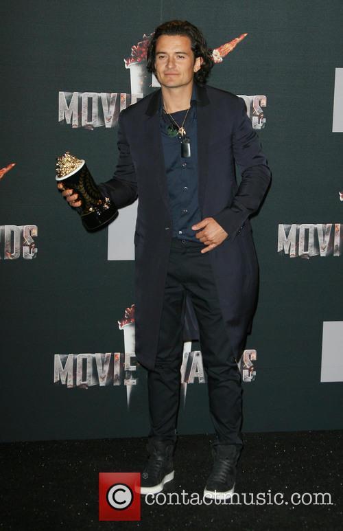 orlando bloom mtv movie awards 2014 press 4154811