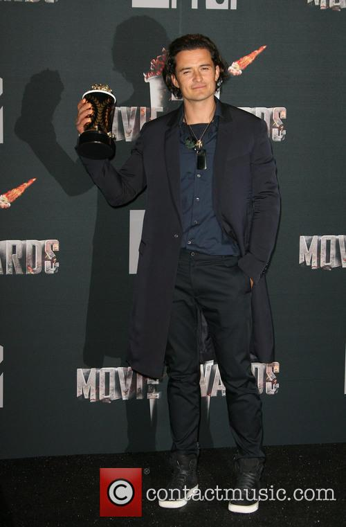 orlando bloom mtv movie awards 2014 press 4154812